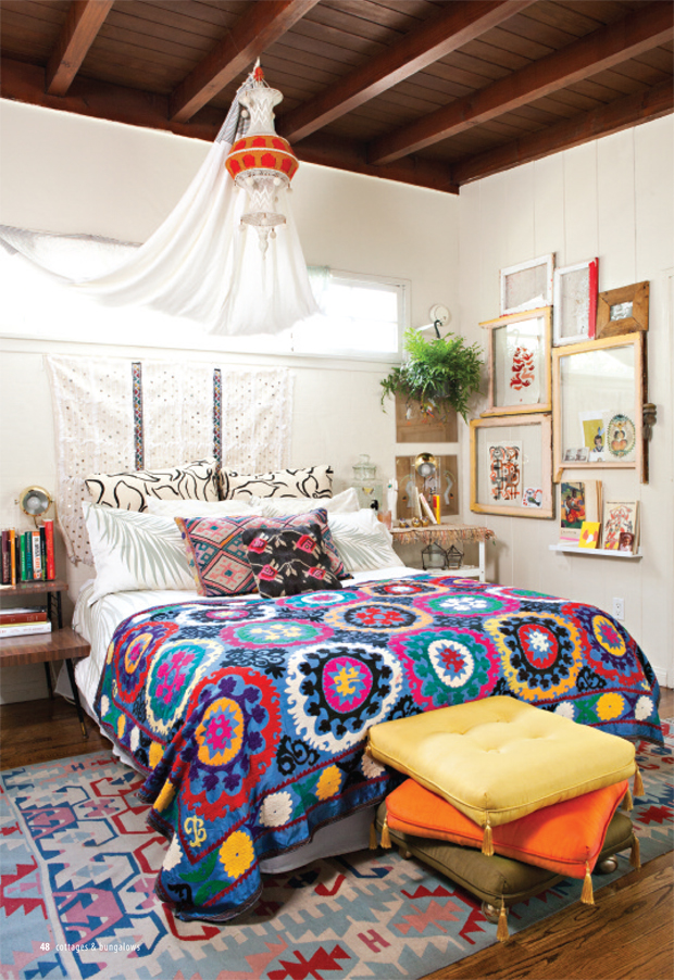 10 tips to decorate your bedroom for love | Jungalow by Justina Blakeney
