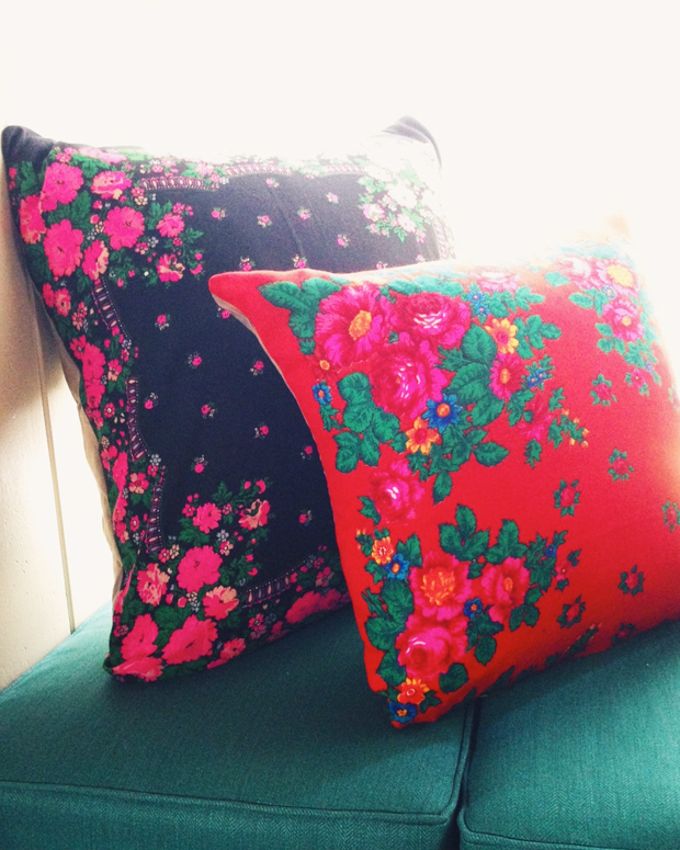 upcycled-scarf-pillows
