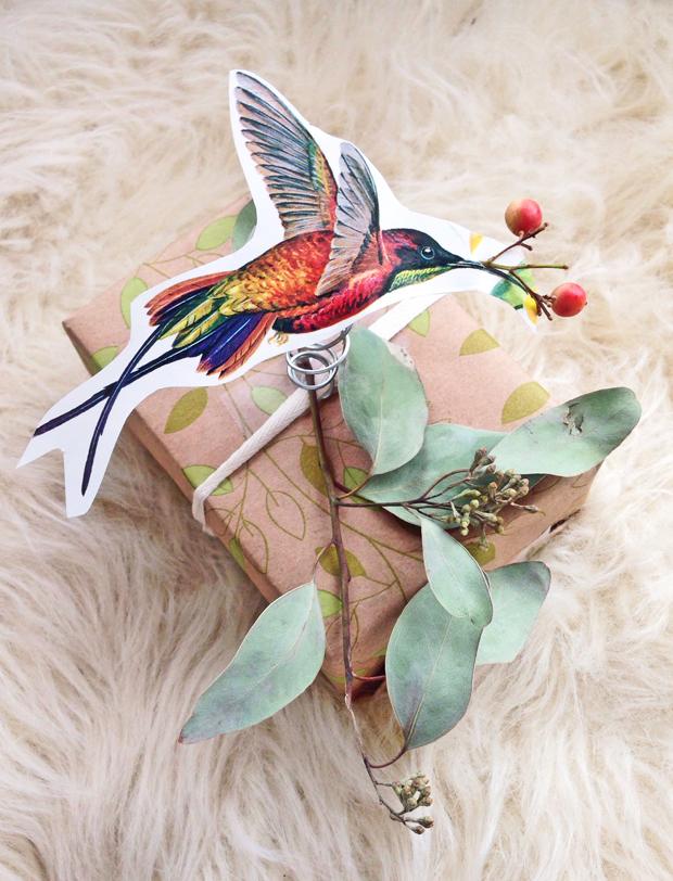 Creative Gift Wrap Idea / Justina Blakeney