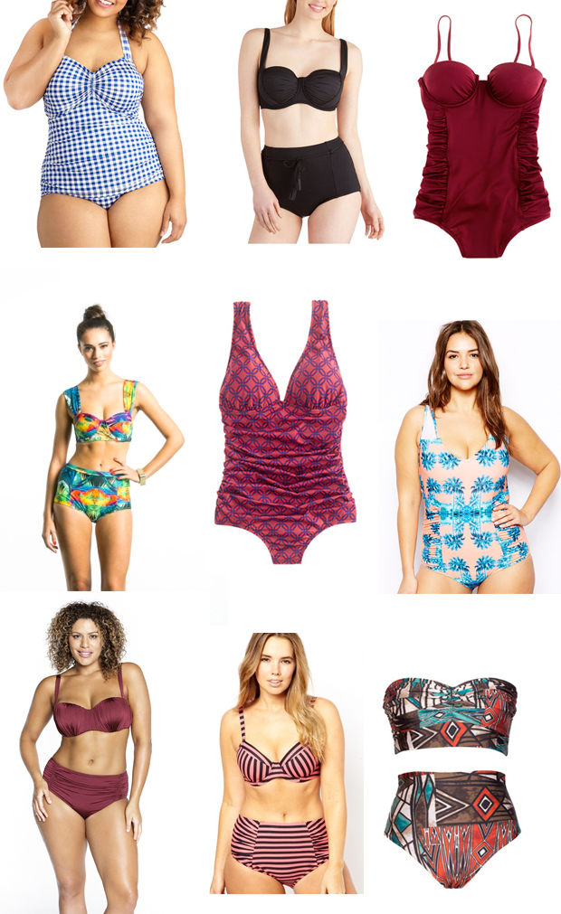 The very best swimsuits for your curves   Justina Blakeney