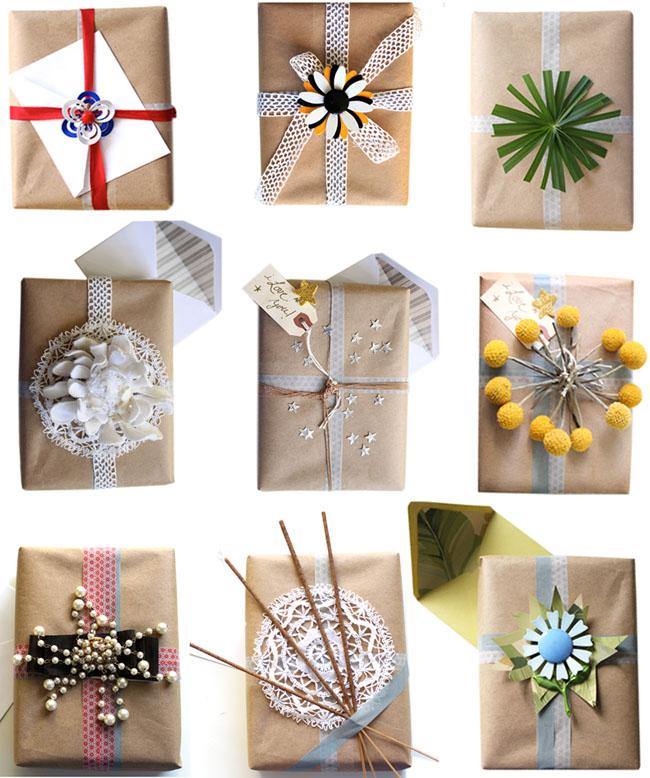 Gift wrap by Justina Blakeney