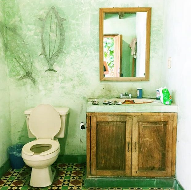 Rustic Mexican Bathroom Amazingness Get The Look. | Jungalow By Justina  Blakeney