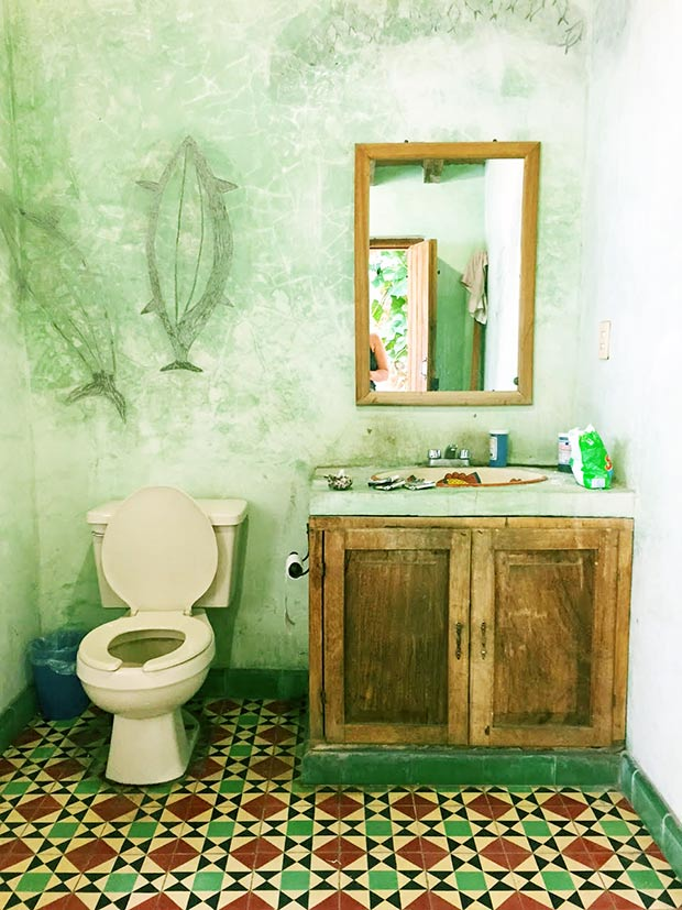 Rustic Mexican Bathroom Amazingness Get The Look Jungalow