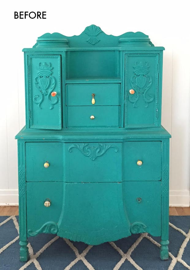 Painted Dresser Before | The Jungalow