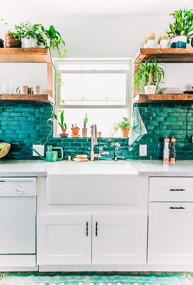Justina Blakeney's Jungalow Kitchen