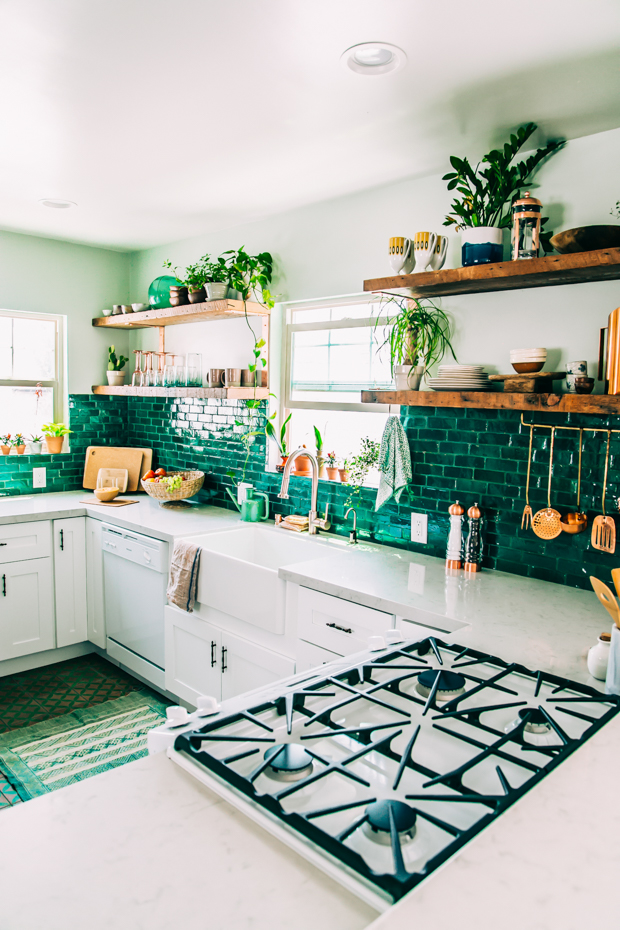 Boho Kitchen Reveal: The Whole Enchilada! | Jungalow by ...