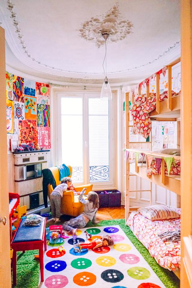 Creative Kid's room in Paris