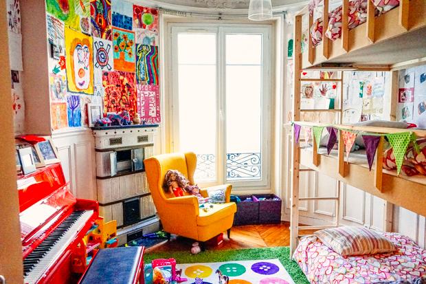 Creative shared Kid's room