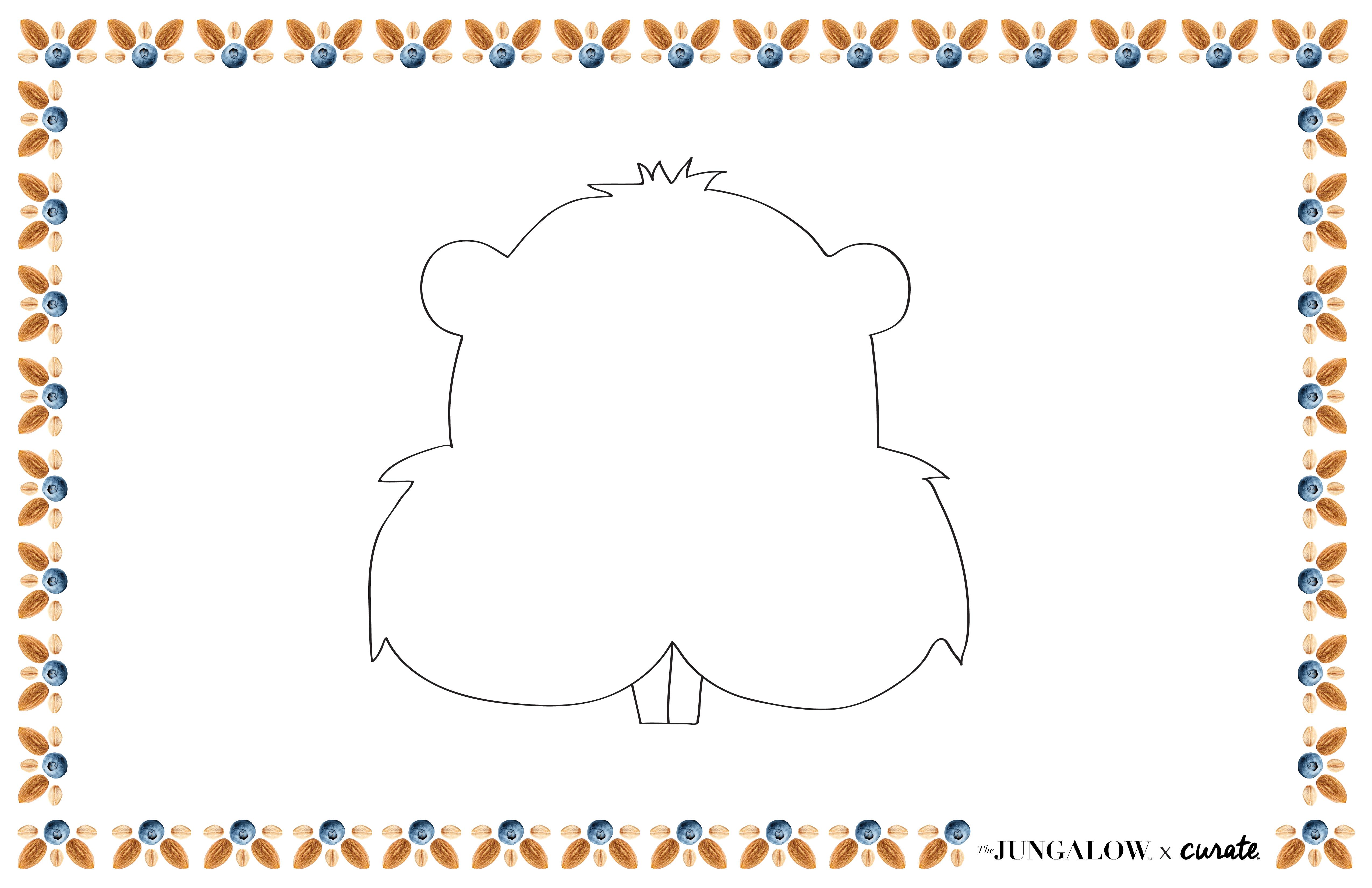 Beaver-Face-Placemat