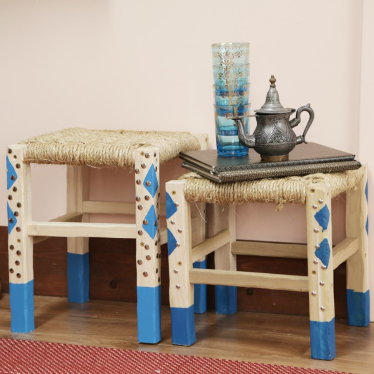 Moroccan Stool DIY