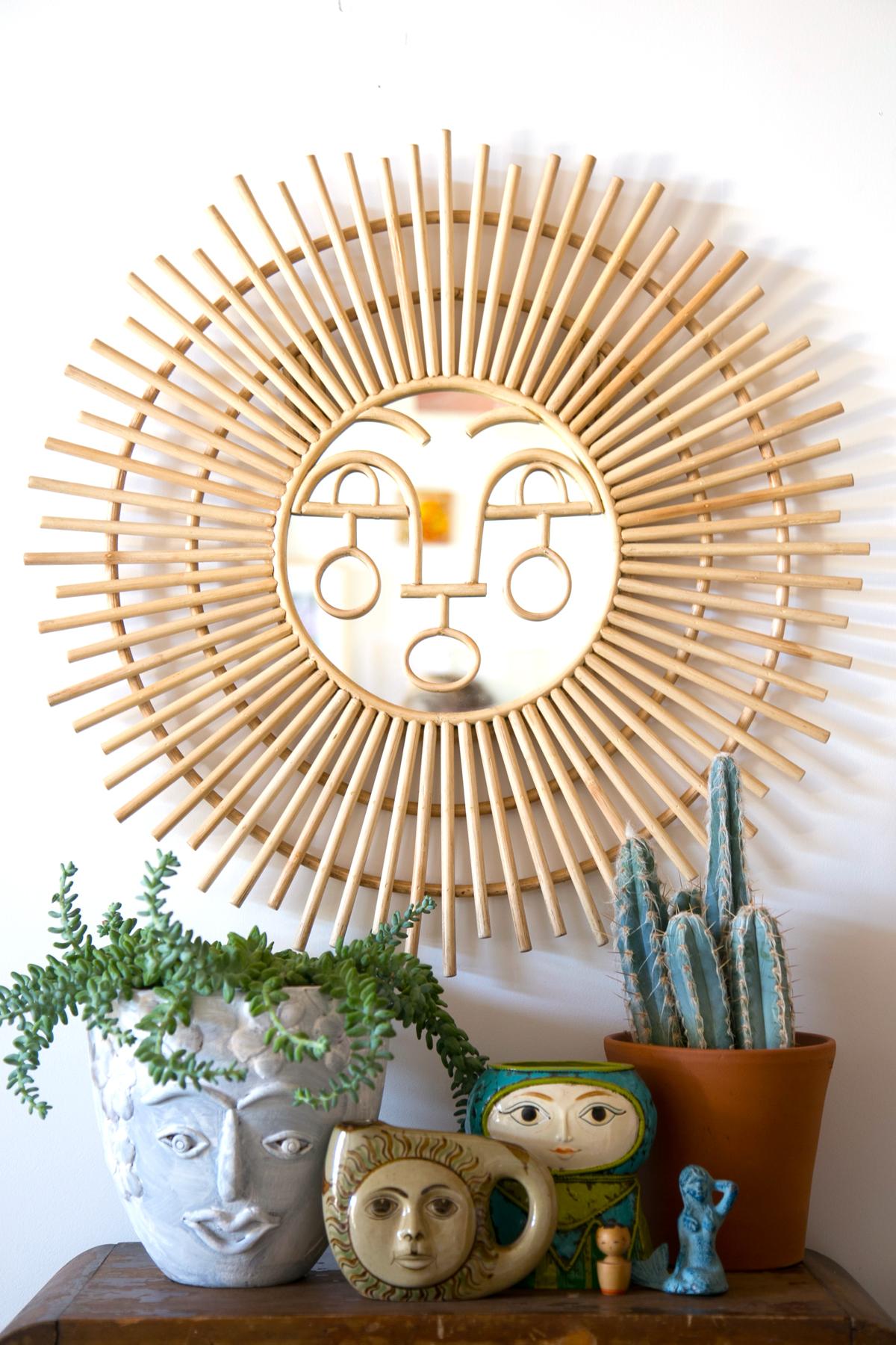 Sun-Mirror-Face-Planters