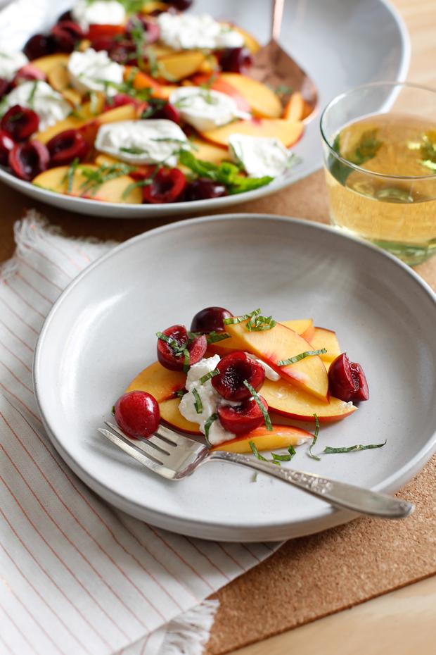 Danae's-Stone-Fruit-Burrata-Salad-Table