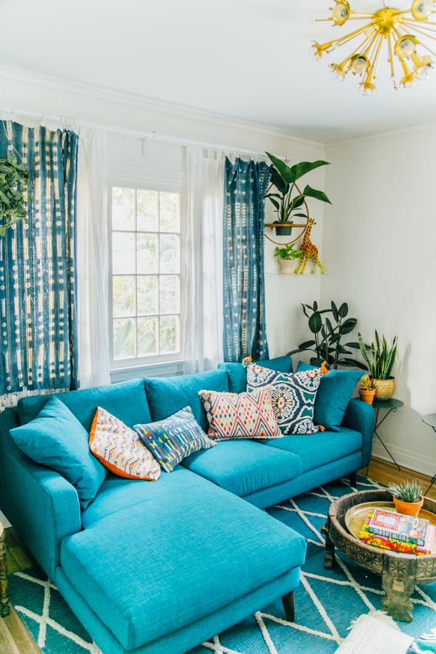 Justina Blakeney Blue Room - The Jungalow