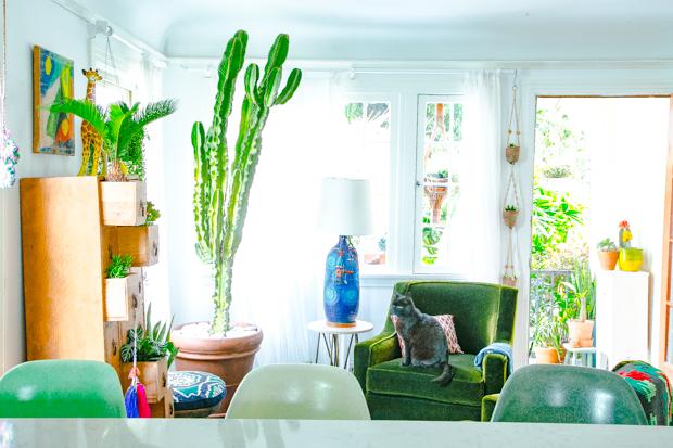 Justina Blakeney | Jungalow Living Room