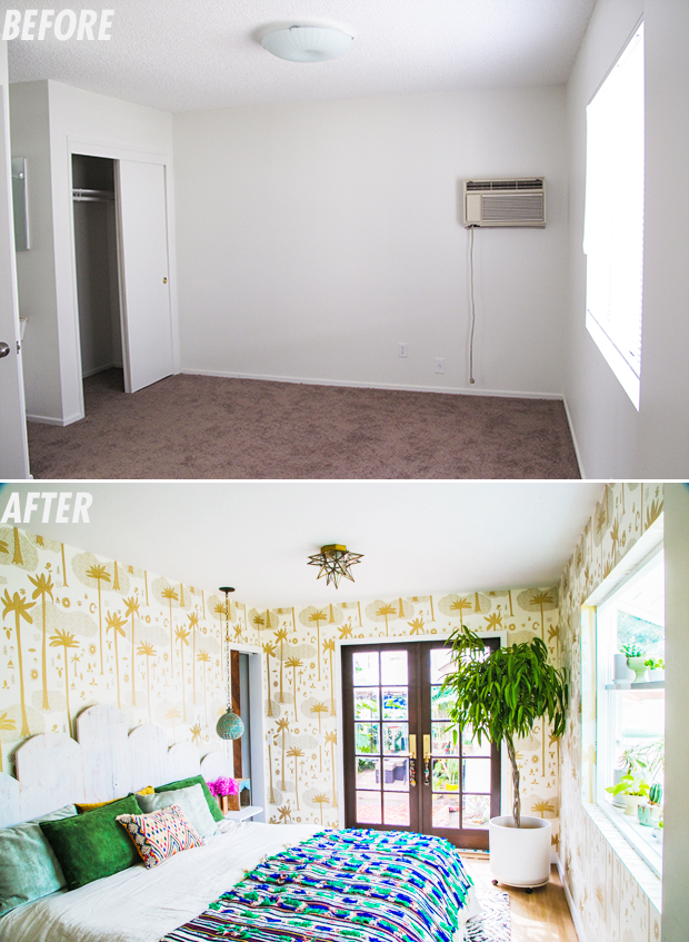 bedroom-before+After