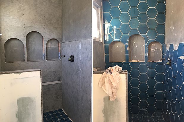 shower-progress