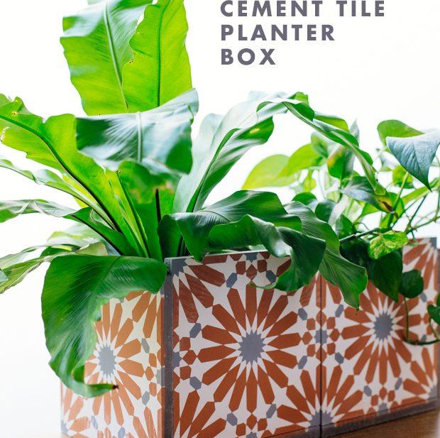 Tile Planter Box
