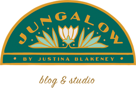 Jungalow by Justina Blakeney logo